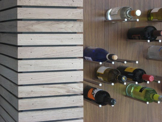 Steel Rod Wine Rack DIY