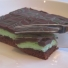 Mint Creme Brownies
