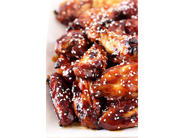 Honey Baked Teryaki Wings