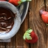 Paleo Two-Ingredient Dark Chocolate Fondue