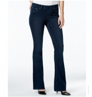 Style & Co. Knit Denim Pull-On Flared-Leg Jeans