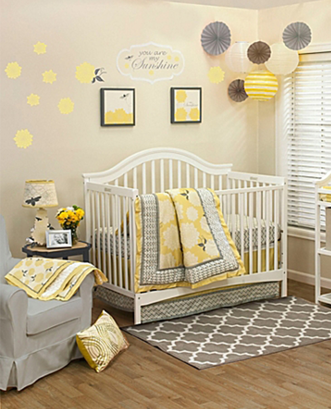 Fabulous Unisex Nursery Decorating Ideas: 51 Gorgeous Gender Neutral Baby Nursery Ideas
