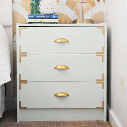 Campaign Style Dresser from Classy Clutter