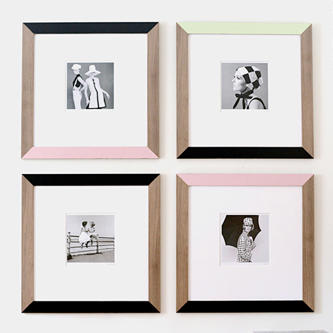 Colorblocked Frames from Ikea Sweden