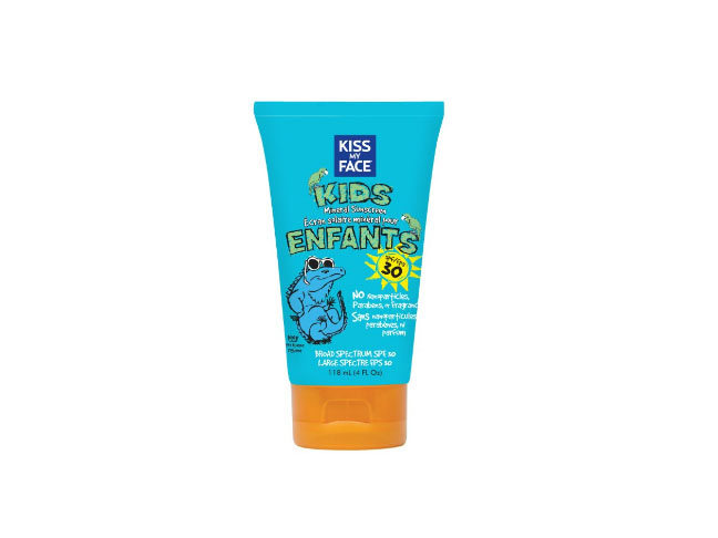 Kiss My Face Kids Mineral Sun Spray Natural Sunscreen Lotion SPF 30 Sunblock