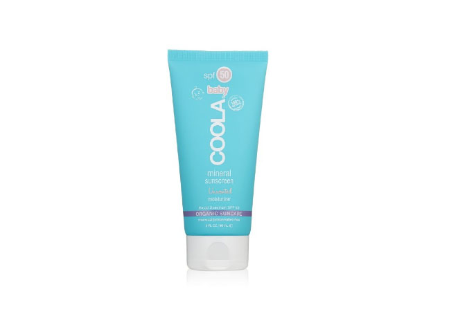COOLA Organic Suncare, Baby Unscented Mineral Sunscreen, SPF 50