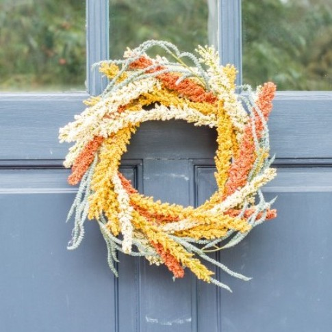 11 Easy To Make Fall Wreaths For Your Front Door