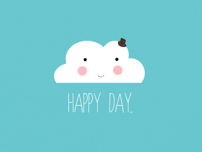 Love from Ginger Happy Day Wallpaper