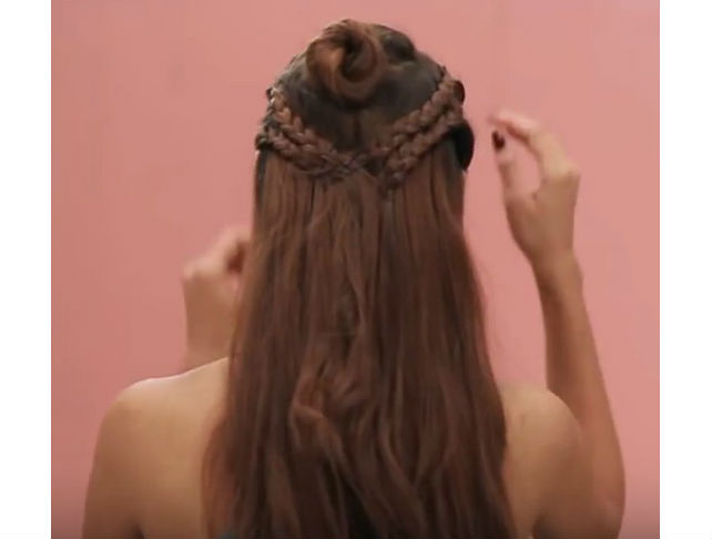 Half-up Boho Braid