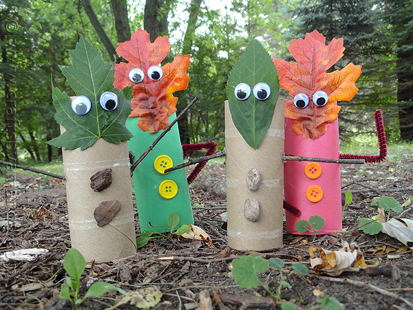 Leaf People Finger Puppets
