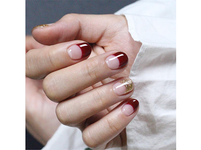 Colored French Tip