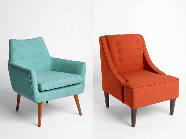 Modern Chair and Madeline Chair from Urban Outfits