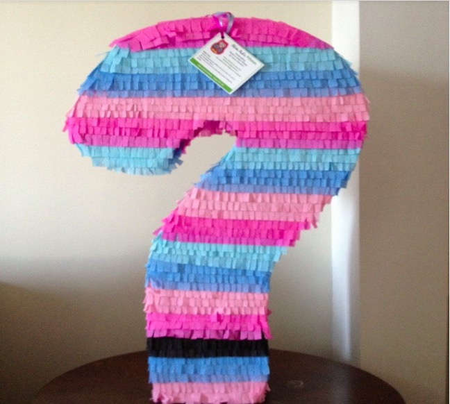 Question Mark Piñata