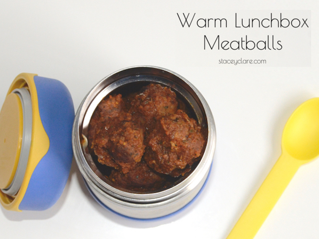 Lunch Box Meatballs Recipe