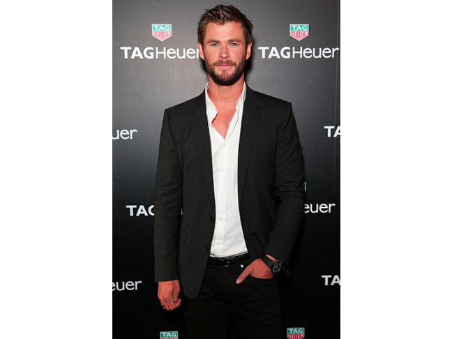 The Dad From Down Under: Chris Hemsworth