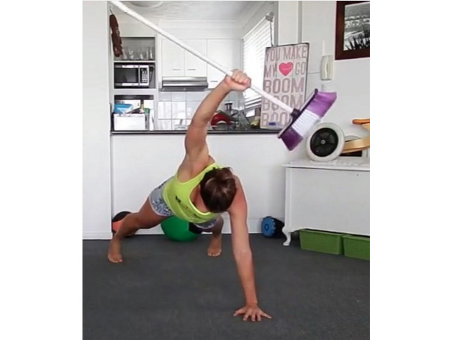 Full Body Broom Workout