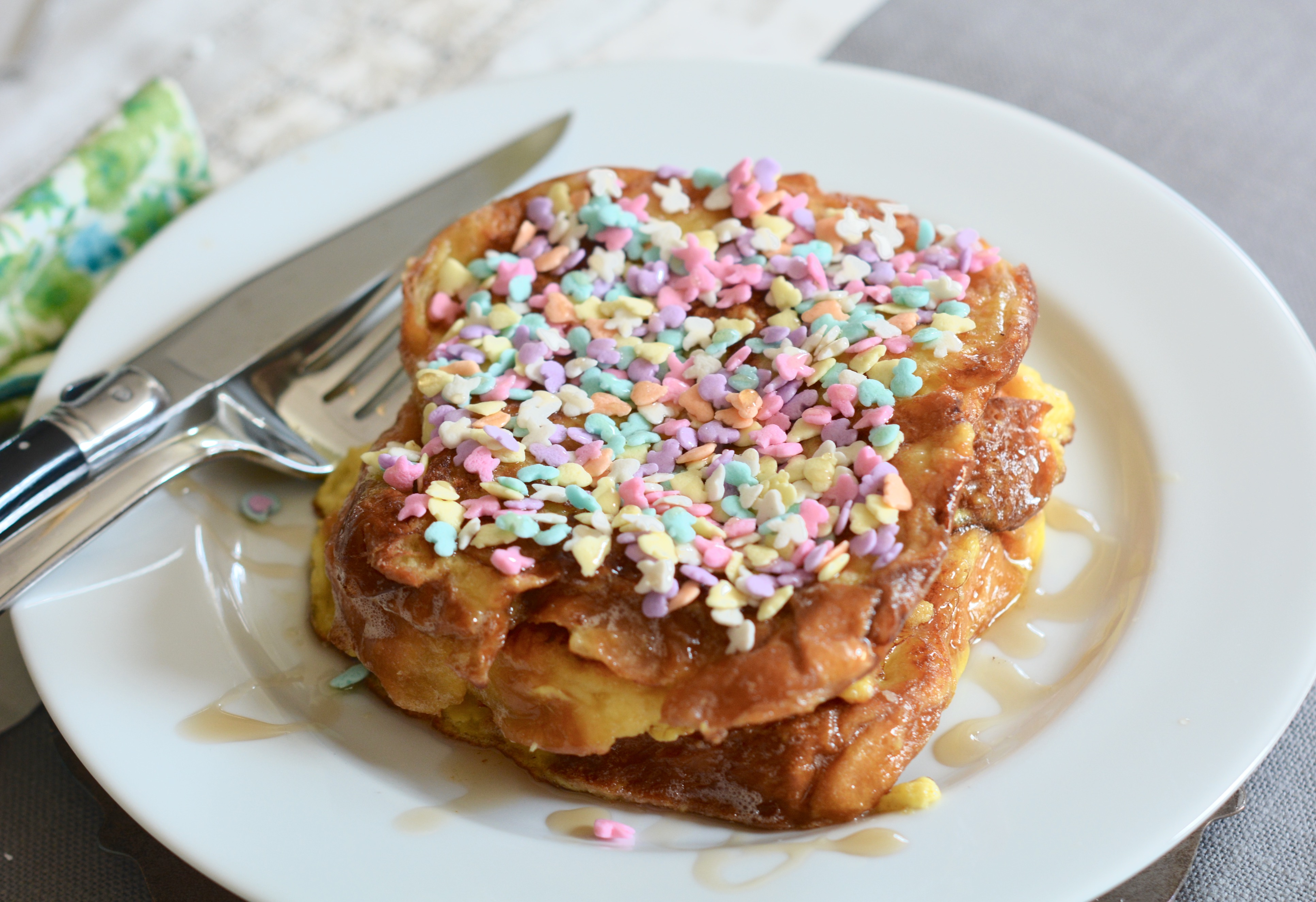 Fairy Bread French Toast