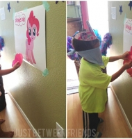 Pin the Tail on Pinkie Pie