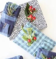 Upcycle Old Shirts for Gift Wrap