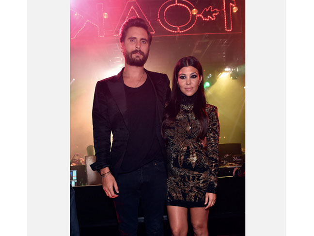 Kourtney Kardashian & Scott Dissick