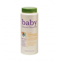 Avalon Organics Silky Cornstarch Baby Powder