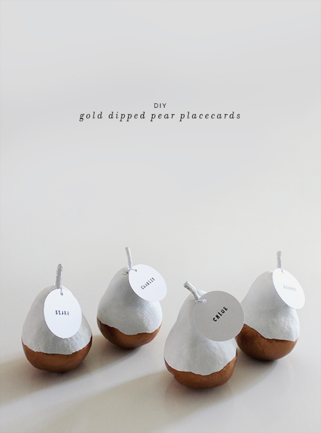Pear Perfect Place Cards