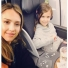 Jessica Alba & Honor Warren