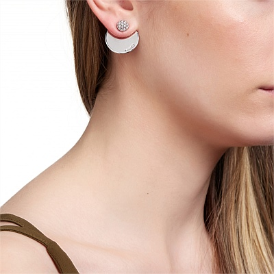 Funky earrings to bring the cred