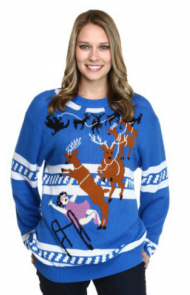 The Grandma & the Reindeer Sweater