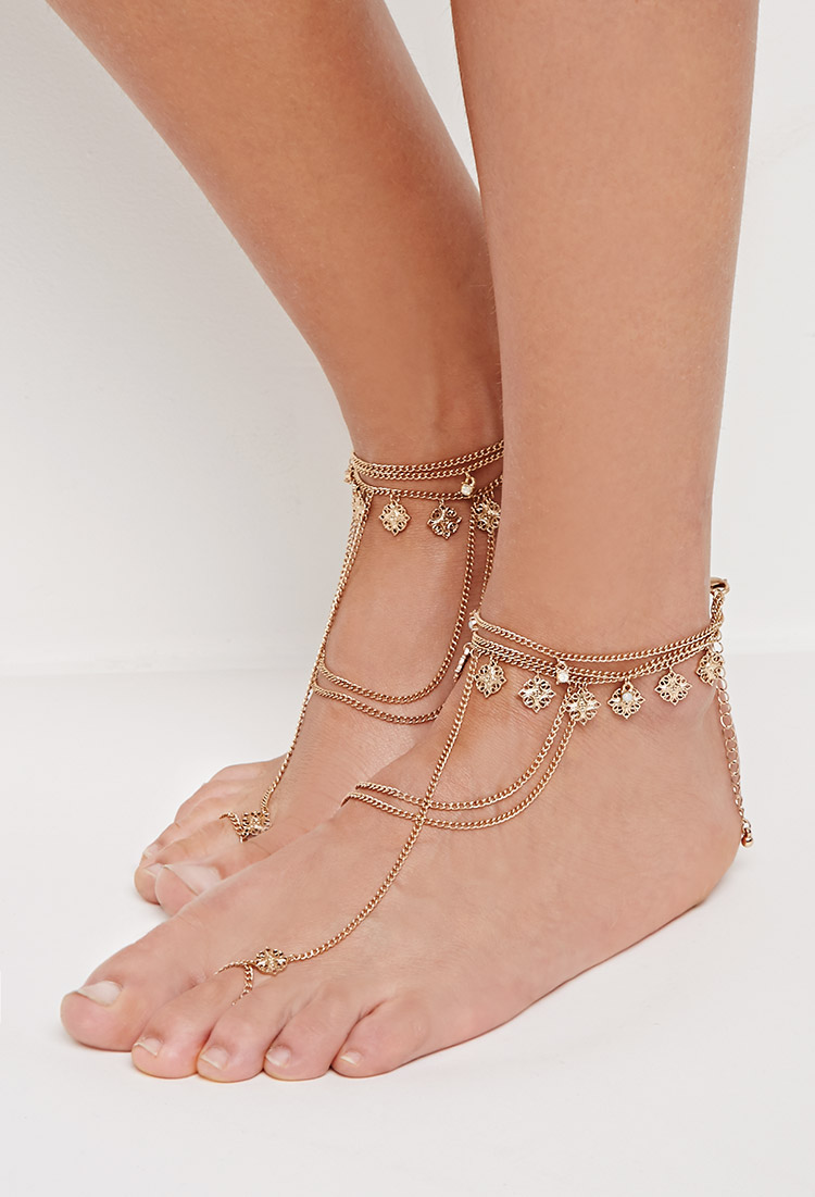 Ankle Bracelet and Foot Chain